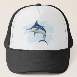 Blue Marlin Trucker's Hat