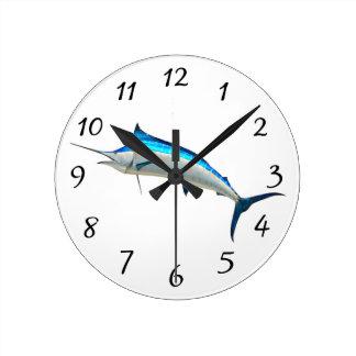 Blue Marlin Wallclocks