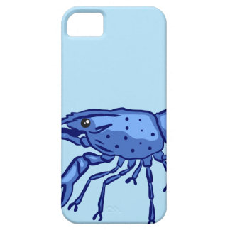 Blue Marron Sketch Case For The iPhone 5