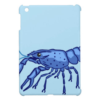 Blue Marron Sketch iPad Mini Covers
