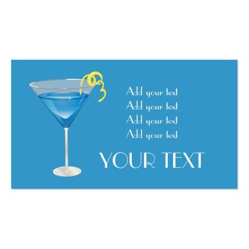 Blue Martini Business Cards