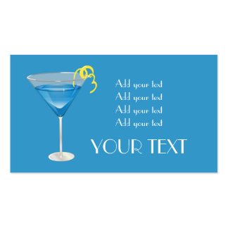 Blue Martini Business Cards