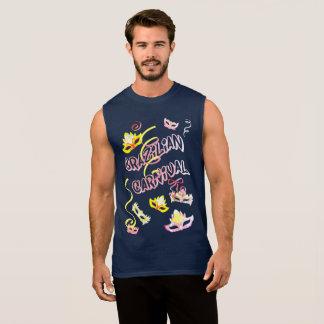 Blue Masculine t-shirt Marine Carnival of Brazil