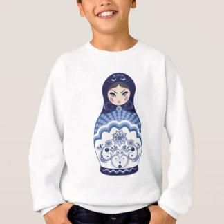 Blue Matryoshka Doll Sweatshirt