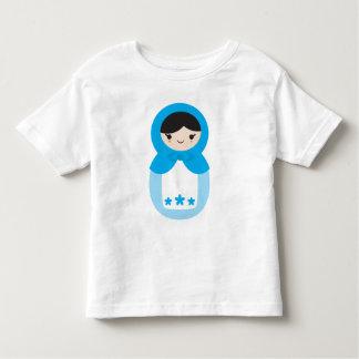 Blue Matryoshka Doll Toddler T-shirt