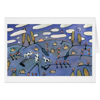 Blue Meadow Card