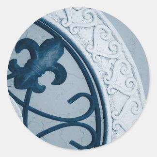 Blue Medallion sticker