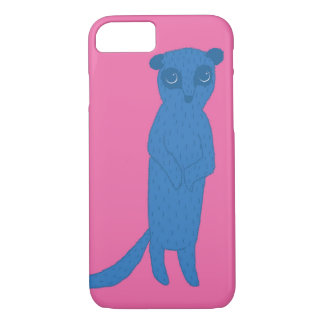 Blue meerkat iPhone 8/7 case