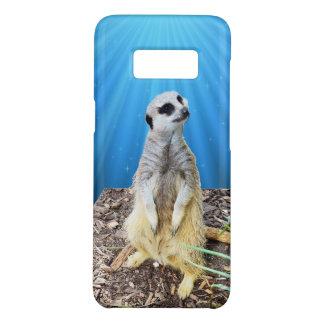 Blue Meerkat Night, Case-Mate Samsung Galaxy S8 Case