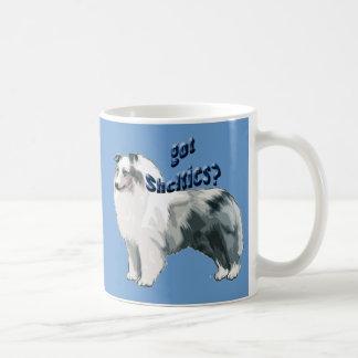 Blue Merle shetland Sheepdog Coffee Mug
