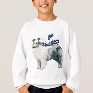 Blue Merle shetland Sheepdog Sweatshirt