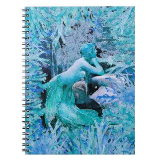Blue Mermaid Notebook