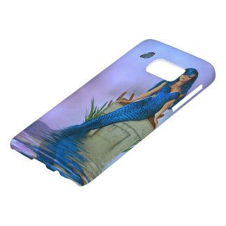 Blue Mermaid Samsung Galaxy S7 Case