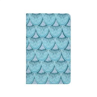 Blue Mermaid scales ,boho,hippie,bohemian Journal
