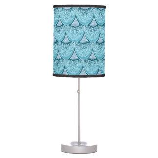 Blue Mermaid scales ,boho,hippie,bohemian Table Lamp