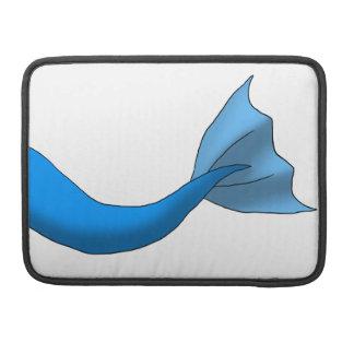 Blue Mermaid Tail MacBook Pro Sleeve