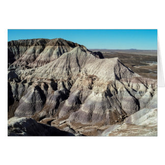 Blue Mesa Badlands Birthday Card