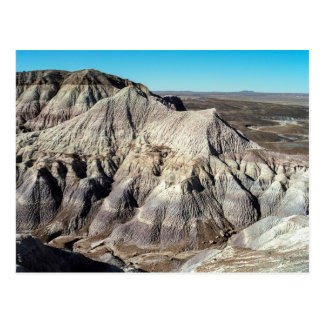 Blue Mesa Badlands, Petrified Forest National Park Postcard