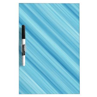 Blue metal background dry erase board