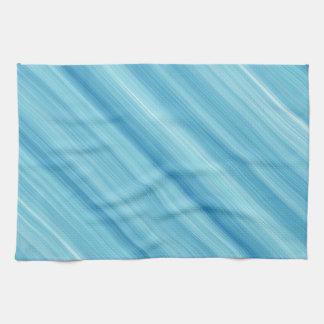 Blue metal background kitchen towel