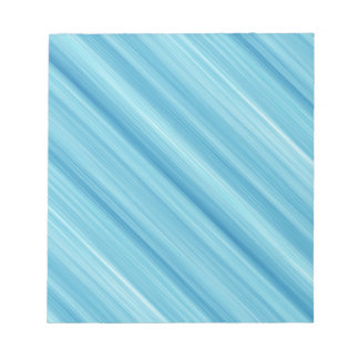 Blue metal background notepad