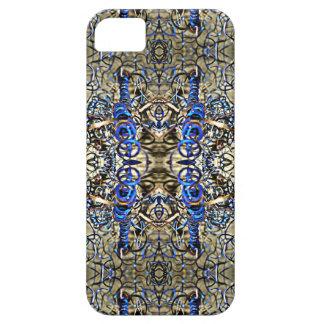 Blue Metal Shavings iPhone 5 Cover