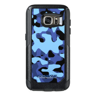 Blue Military Camouflage OtterBox Samsung Galaxy S7 Case