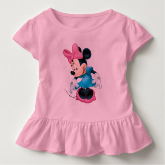 Blue Minnie | Curtseying Toddler T-shirt
