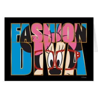 Blue Minnie   Fashion Diva Card