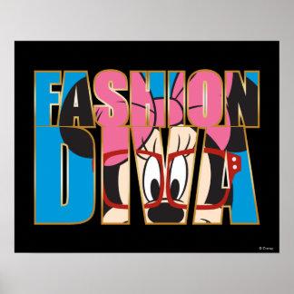 Blue Minnie | Fashion Diva Poster