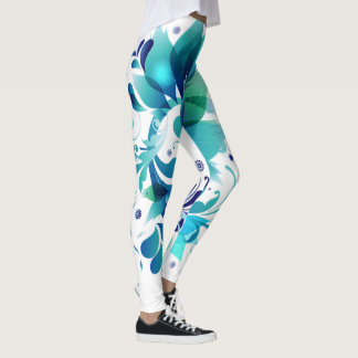 Blue Miss Eve Leggings