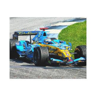 Blue Mist at Indy Canvas Print