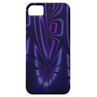 Blue Modern Abstract iPhone 5 Case