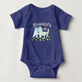 Blue Mommy's Little Angel Toddler/baby Shirt