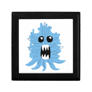 Blue Monster Baby Shirt Jewelry Box