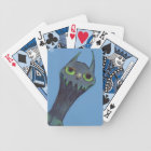 Blue Monster Bicycle Playing Cards