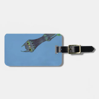 Blue Monster Luggage Tag