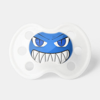 Blue Monster Pacifiers