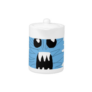 Blue Monster Wrapping Paper