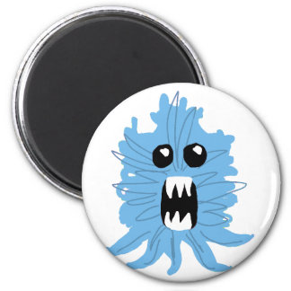Blue Monster Wrapping Paper Magnet
