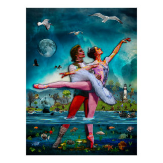 Blue Moon Ballet A Complete Fiction Poster