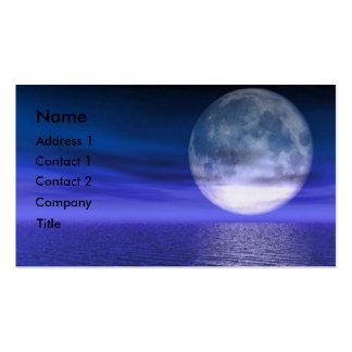 Blue Moon Business Card