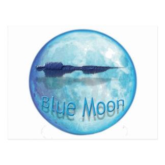 Blue Moon City WaveZ Postcard