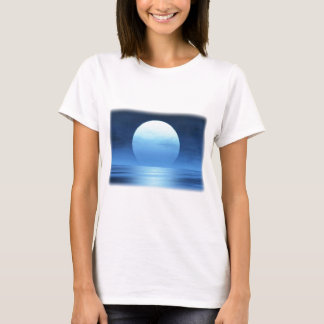 blue moon - customizable with your text T-Shirt