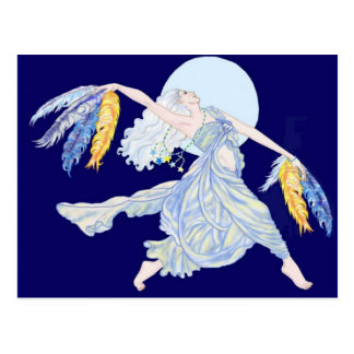 Blue Moon Dancer Postcard