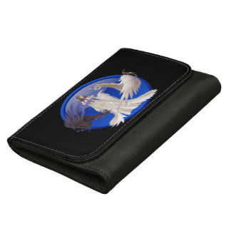 Blue Moon Goddess Medium Leather Wallet