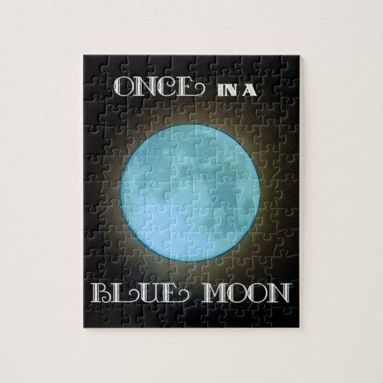 """Blue Moon"" Jigsaw Puzzle"