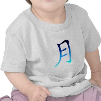 Blue Moon Kanji Tee Shirts