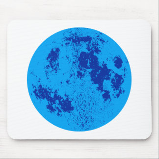 Blue Moon Mouse Pad