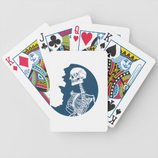 blue moon shirt bicycle playing cards